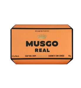 Soap on a rope, Orange Amber Musgo Real