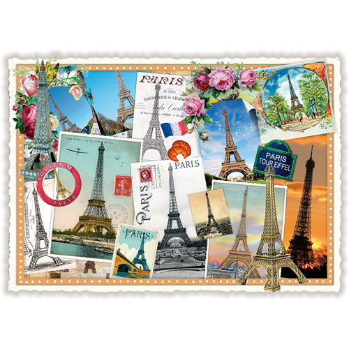 Carte Postale Paris Paris