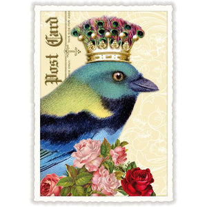 Carte Postale King Bird