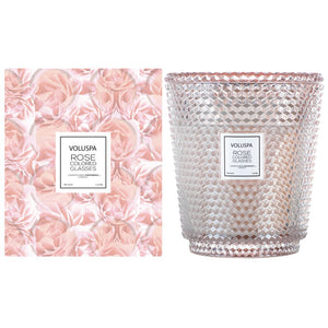 Rose Colored Glasses 5-Wick Heart Candle