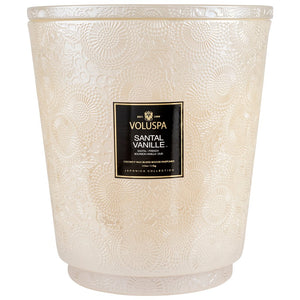 Santal Vanille 5-Wick Heart Candle