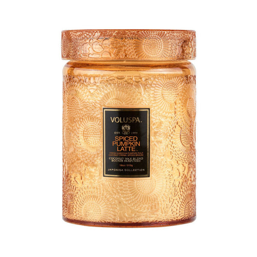 Spiced Pumpkin Latte Large Jar Candle