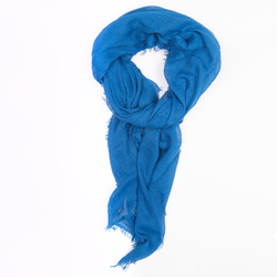 Royal Blue Crinkle Scarf/Hijab