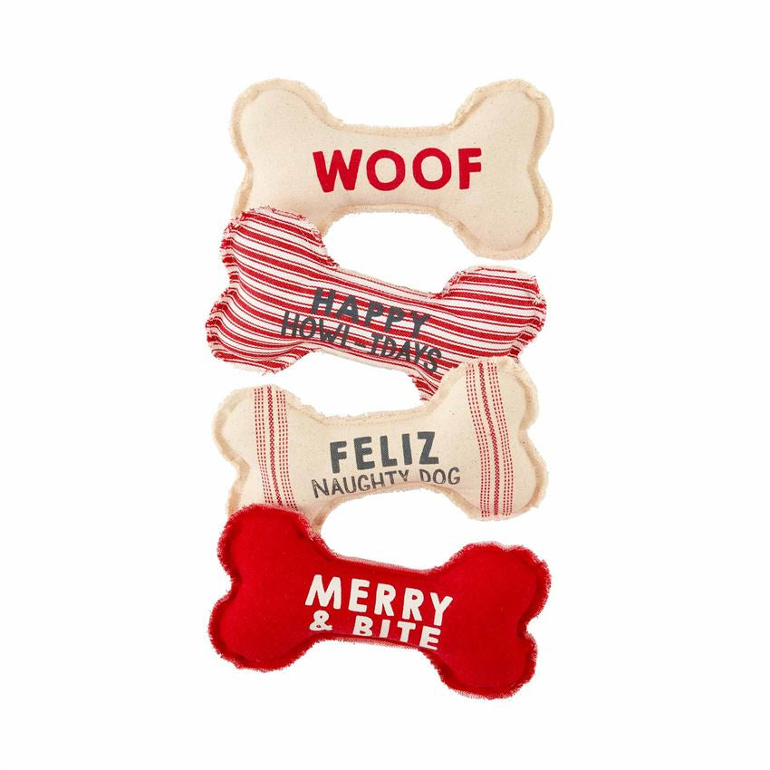 Dog Bone Christmas Toy (Various Styles)