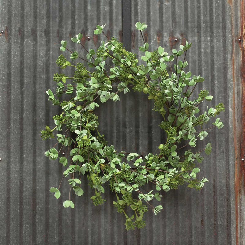 "21"" Mini Leaf Wreath"