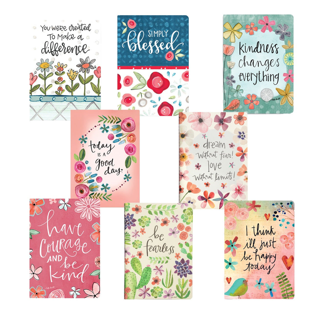 Inspirational Softcover Journal (Various Styles)