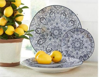 Blue & White Ceramic Plates