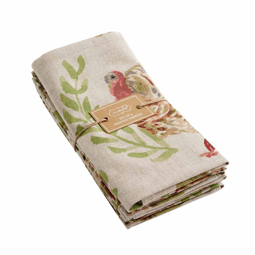 Watercolor Turkey Napkin Set