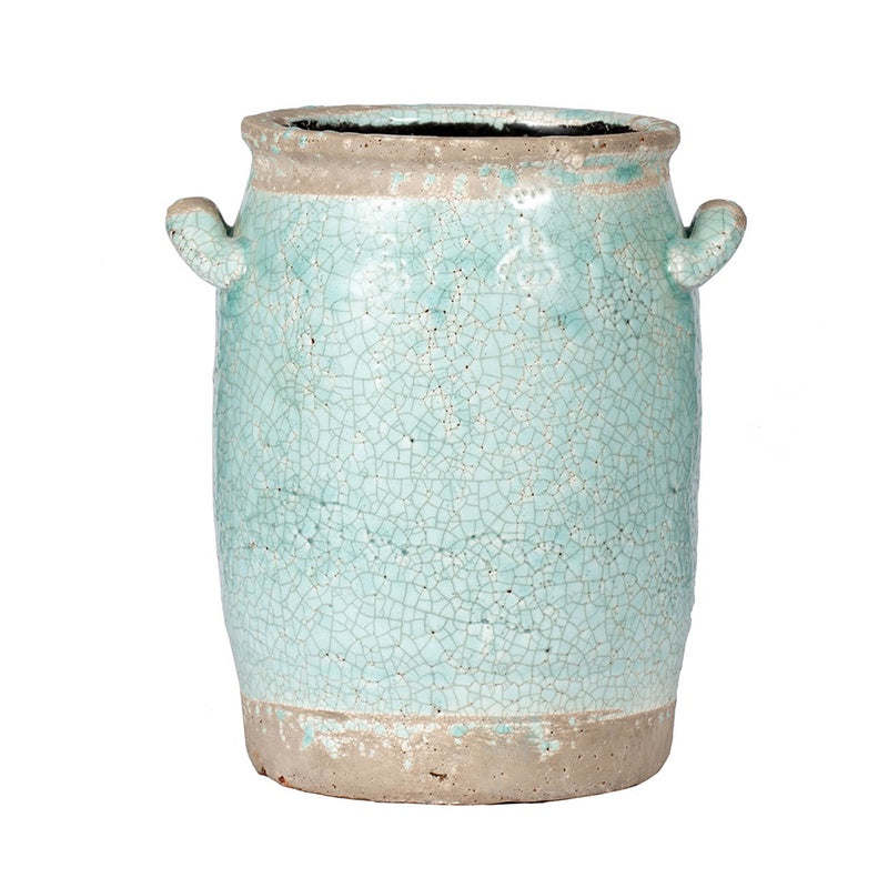 Teal Pot Vase (Various Sizes)
