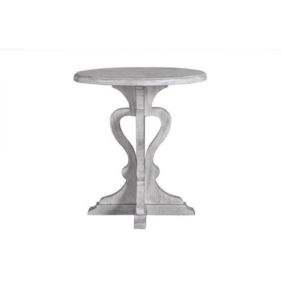 Gray Accent Table