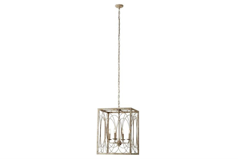 Square Metal Chandelier
