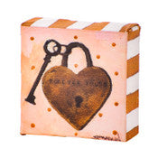 Forever Yours Locket Mini Gallery Canvas Block