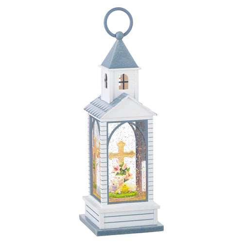 Cross Lighted Water Lantern
