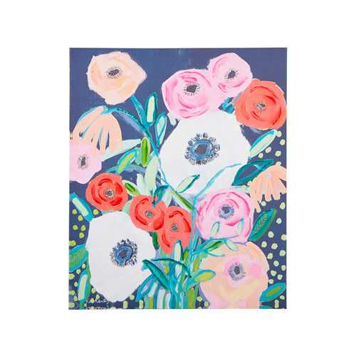 Floral Canvas Wall Decor
