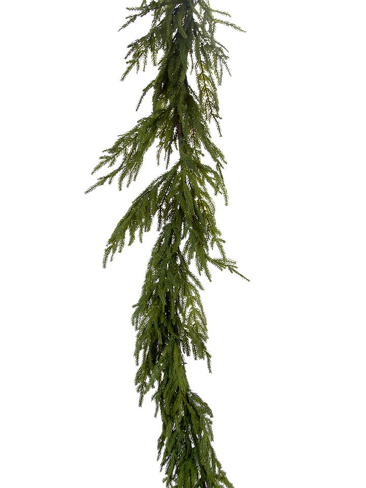 6' Real Touch Fir Garland
