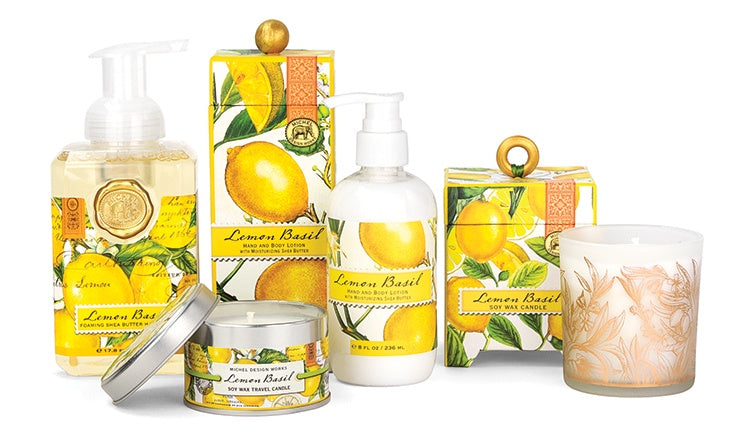 The Lemon Basil Collection