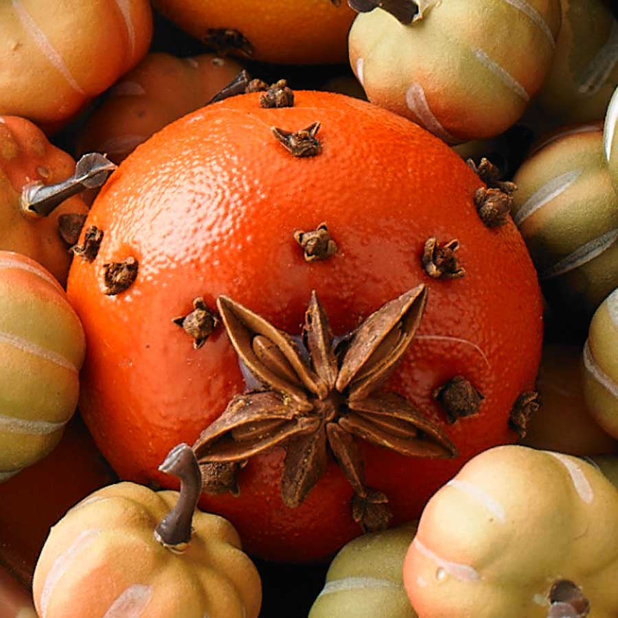 "2.25"" Orange with Real Cloves & Star Anise"
