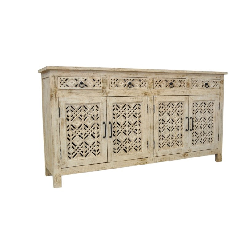 Carved Console 4Door