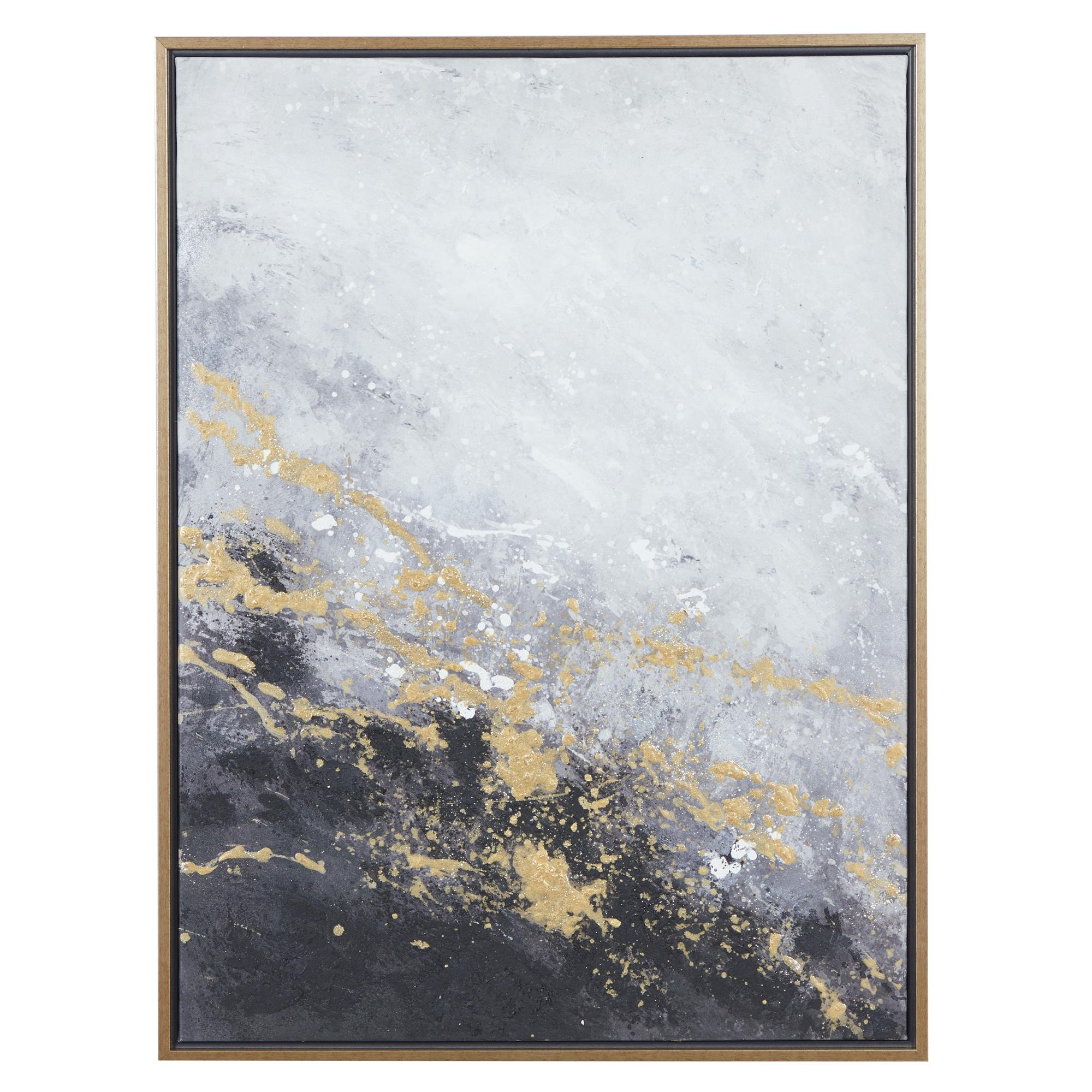 Abstract Framed Canvas Art