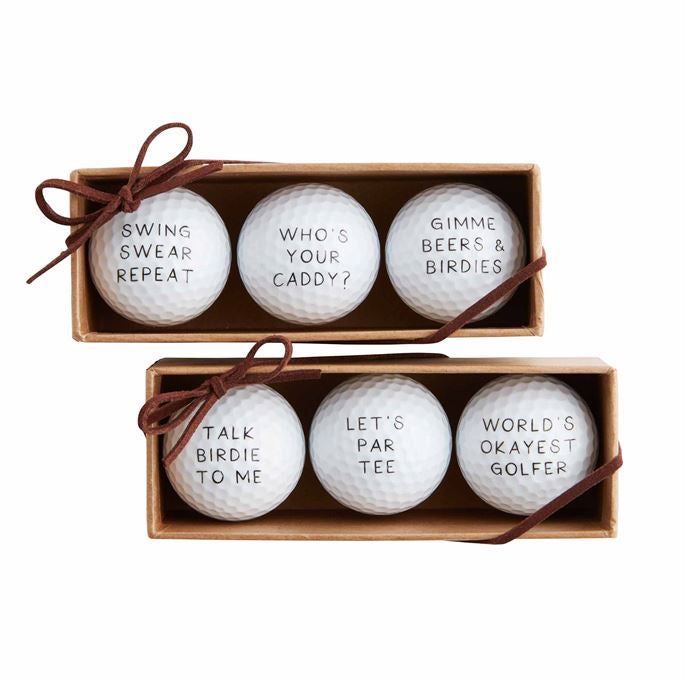 Funny Golf Ball Set (Various Styles)
