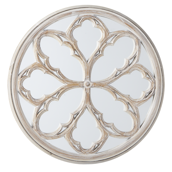 Round Medallion Mirror