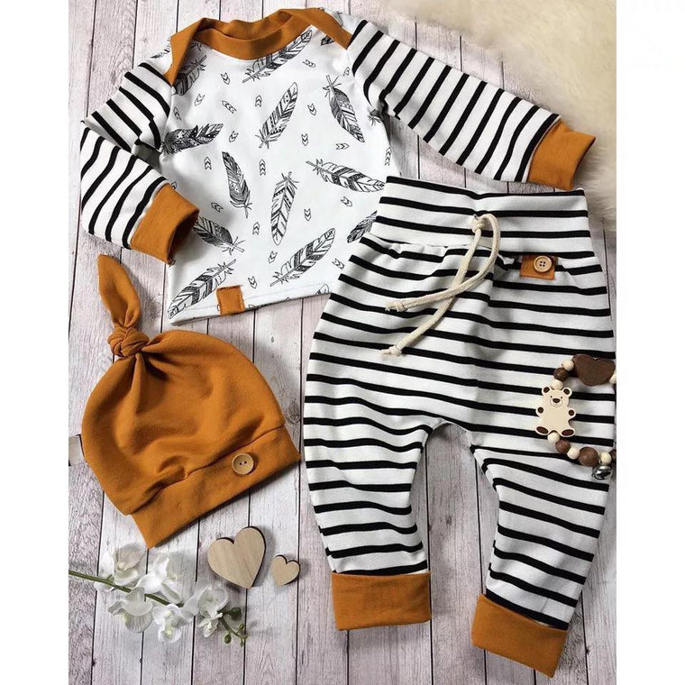 Toddler Tribal Sleeper Set with Hat