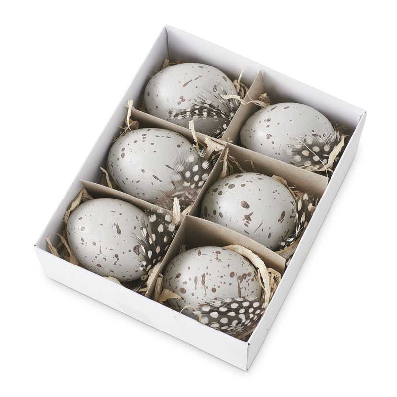 Box of Speckled Gray Eggs