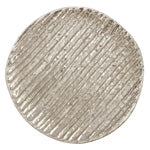 Ribbed Charger, Silver