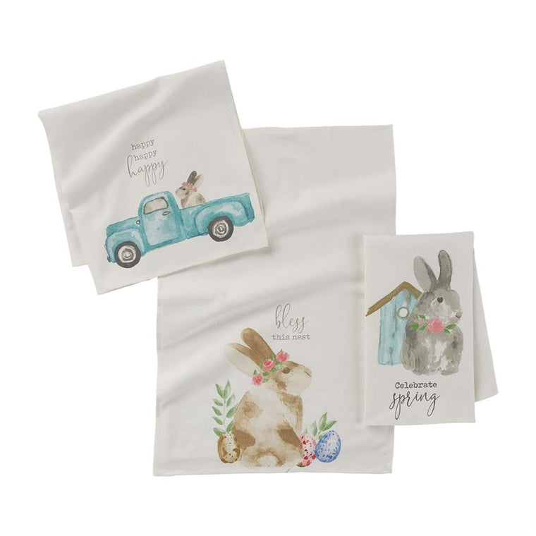 Easter Watercolor Towel (Various Styles)