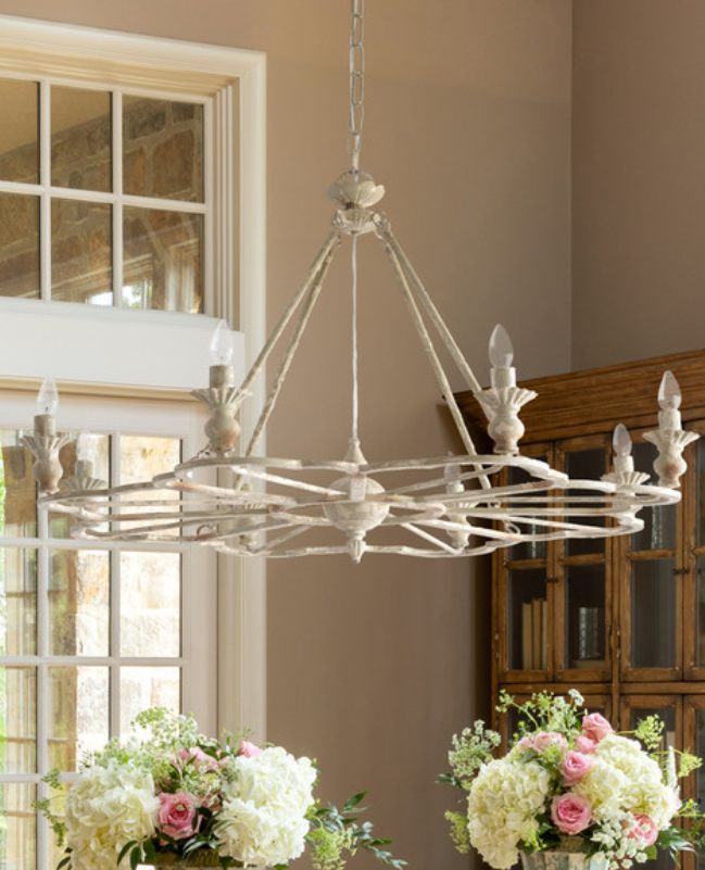French Folly Chandelier