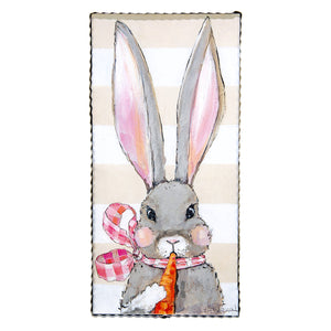Fancy Girl Rabbit Print