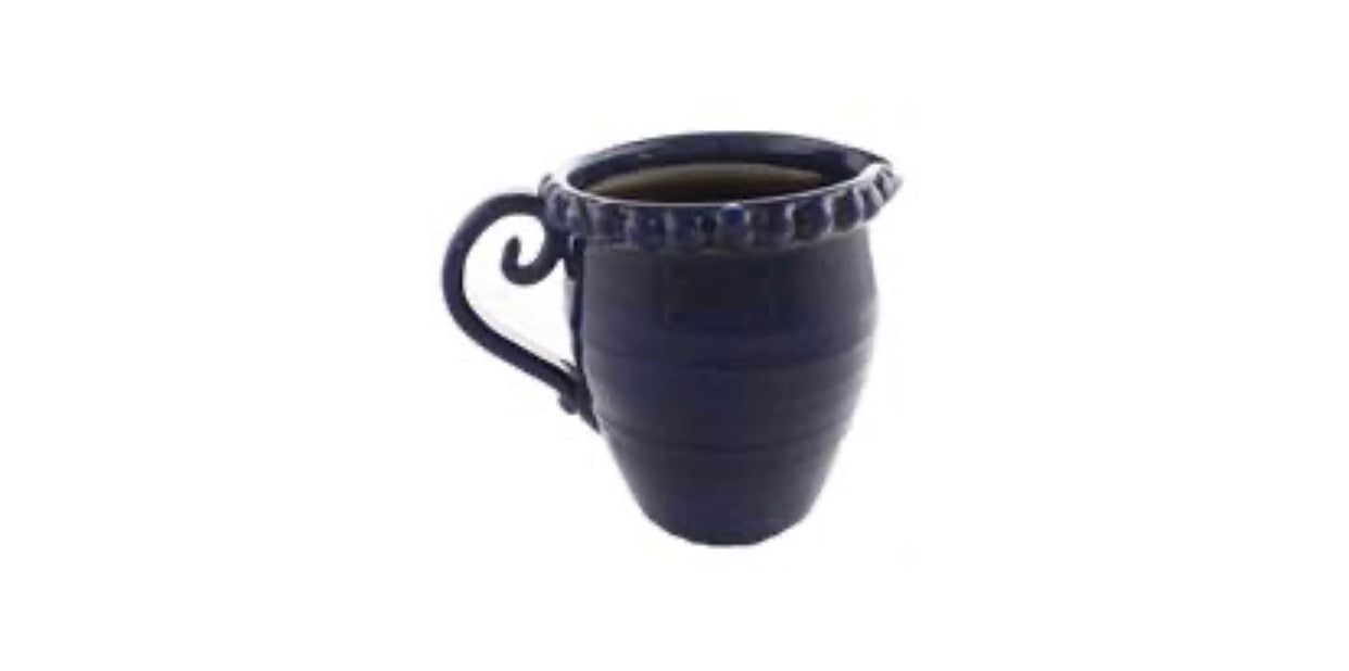 Navy Blue Pitcher