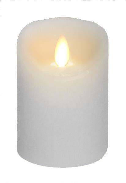 Wax Flickering Candle, 3