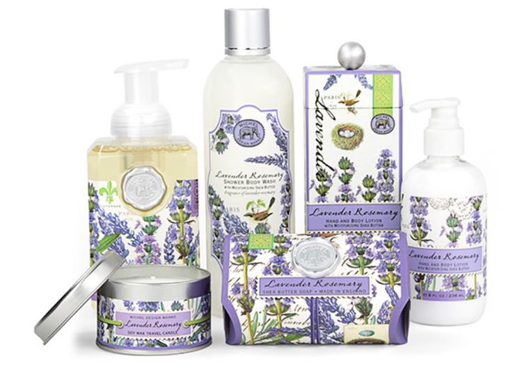 The Lavender Rosemary Collection