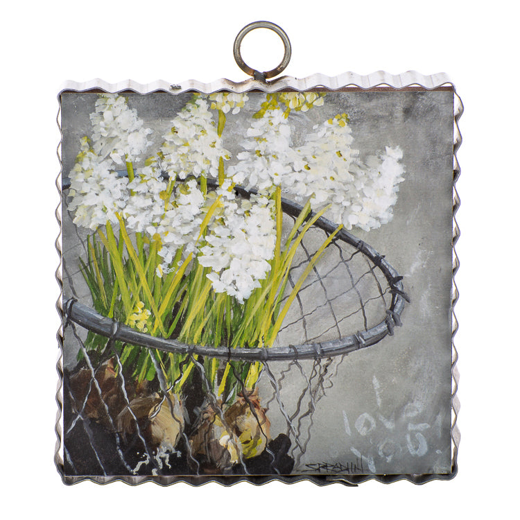 Flower Basket Mini Gallery Print