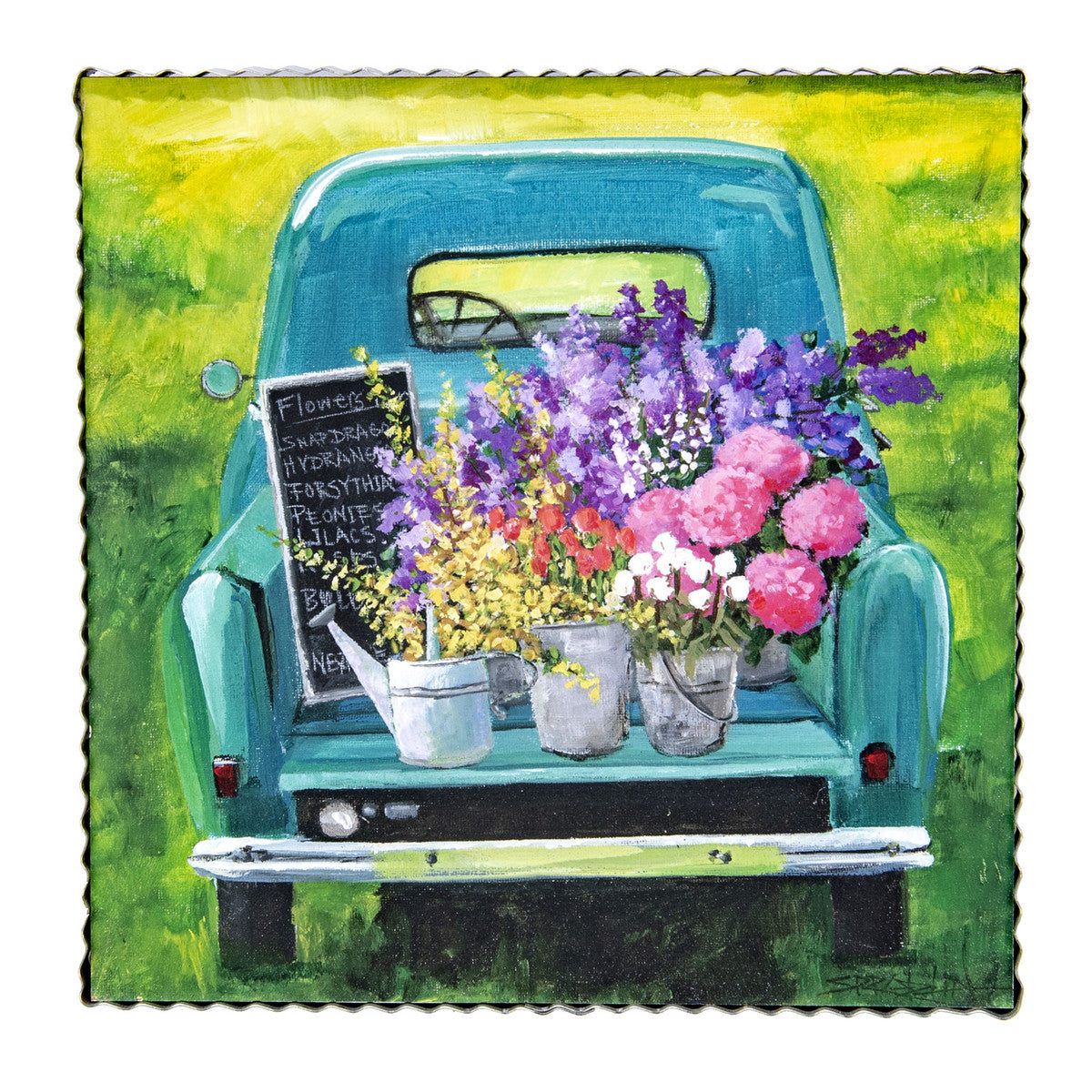 Truck of Flowers Gallery Print