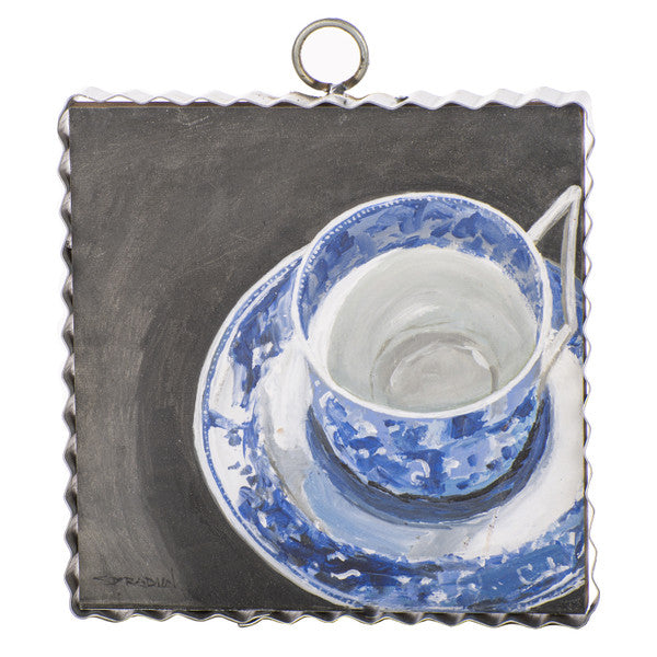 Blue & White Teacup Mini Gallery Print