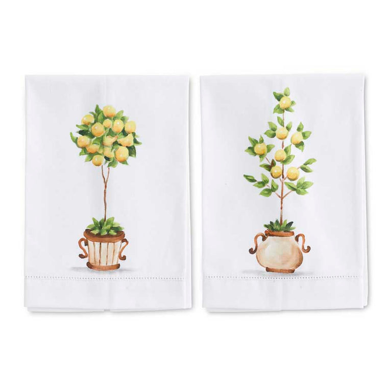 Lemon Topiary Guest Towels (2 Styles)