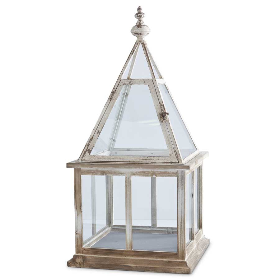 White Washed Wood Terrarium