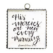 His Mercies Mini Gallery Print