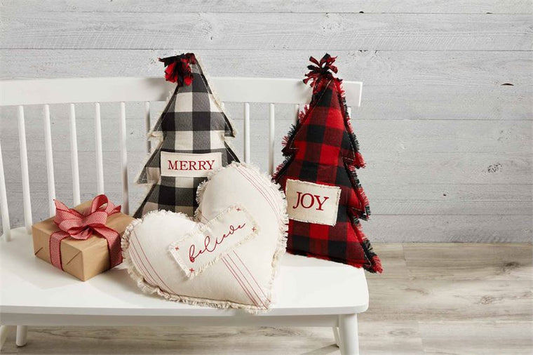 Christmas Figural Pillows (Various Styles)