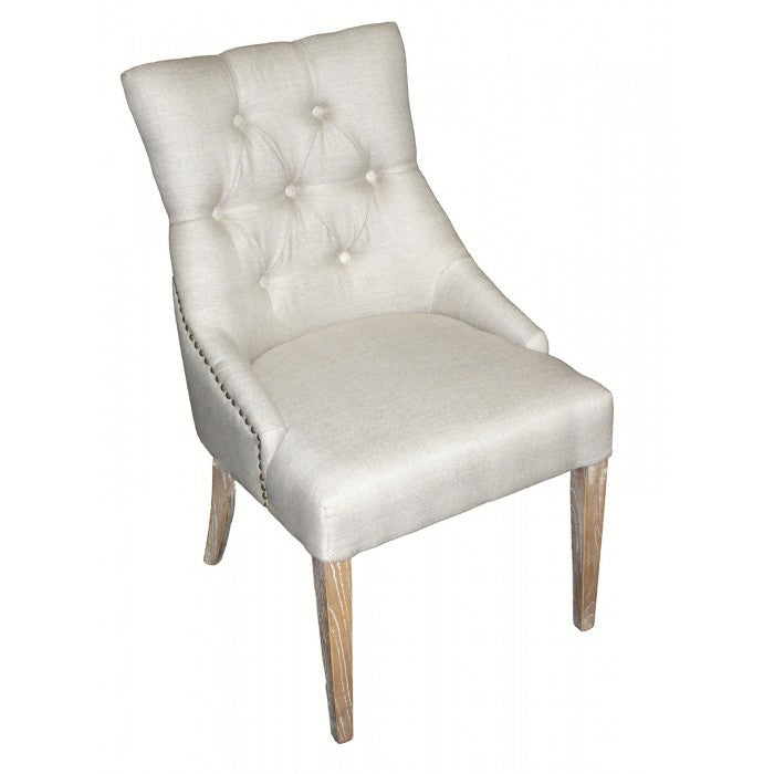 Tufted Back Chair