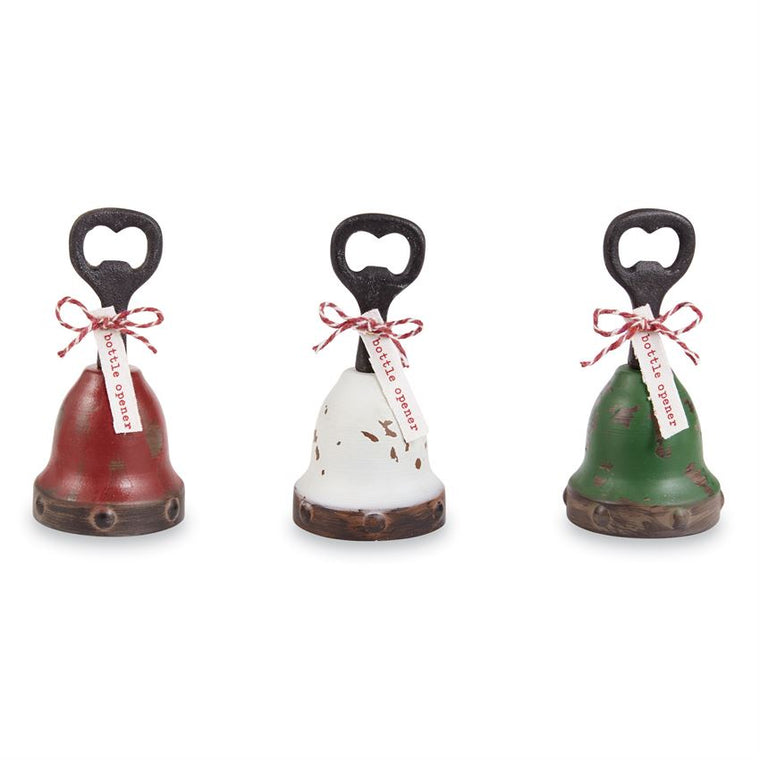 Bell Bottle Opener (Various Colors)
