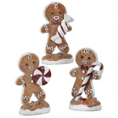 Resin Candy Gingerbread Men (Various Styles)