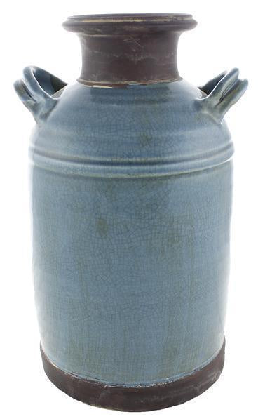 Milk Pail, Smokey Blue