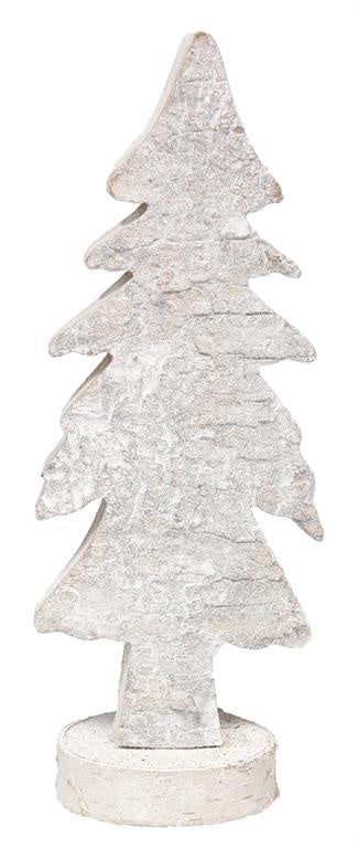 Birch Bark Tree with Base (Various Sizes)