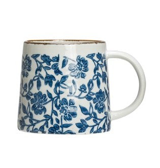 Blue & White Mugs (Various Styles)
