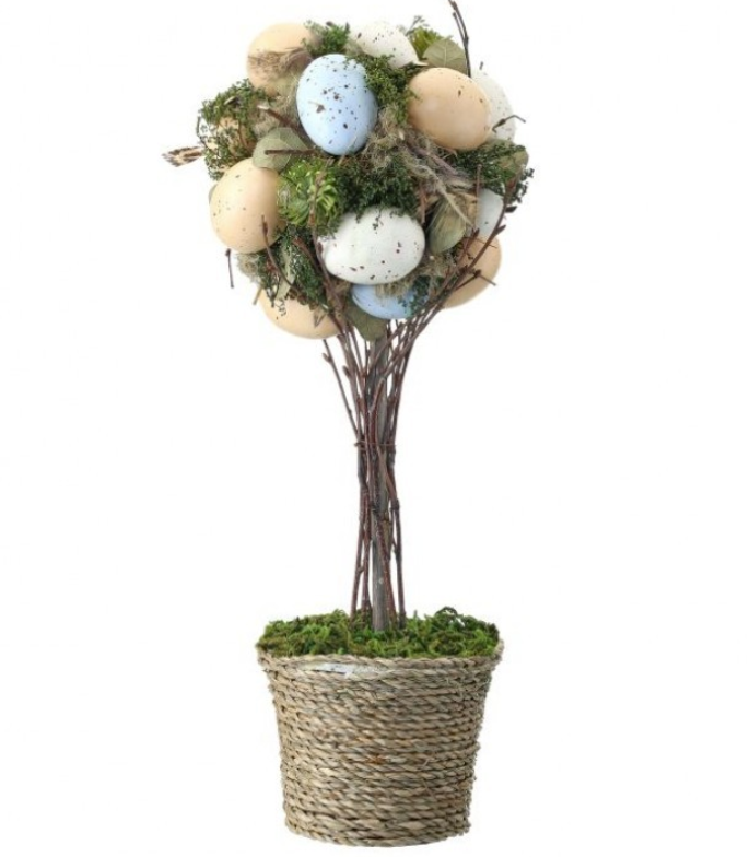 Aviary Egg Topiary