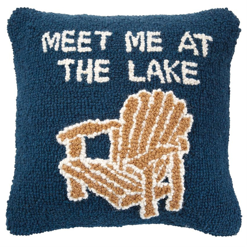 Lake Chair Hook Pillow