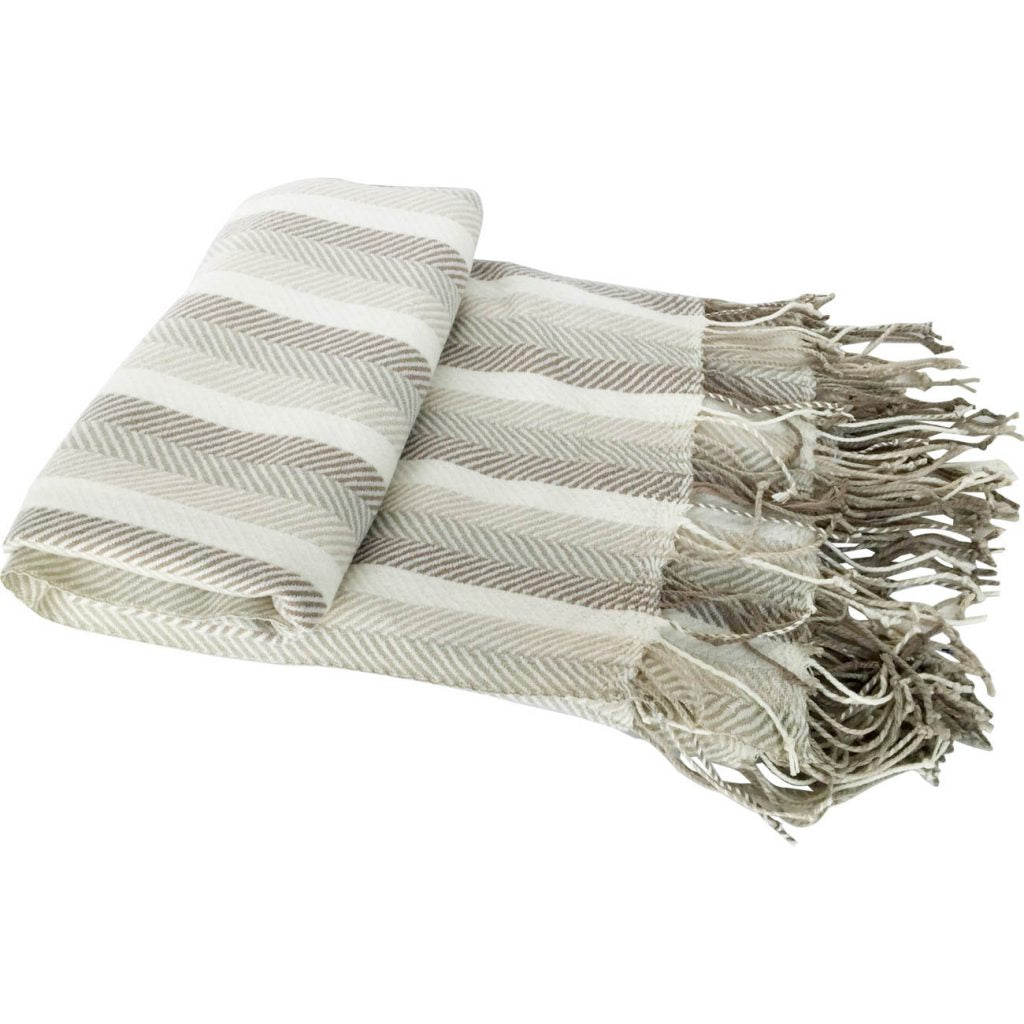 Herringbone Throw Blanket